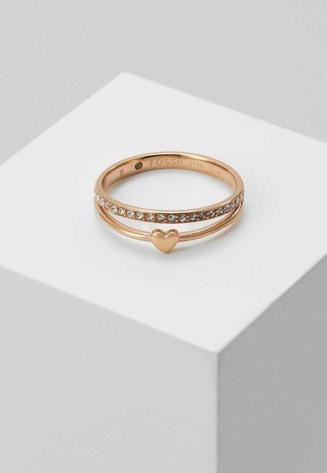 VINTAGE GLITZ - Ring - rose gold-coloured