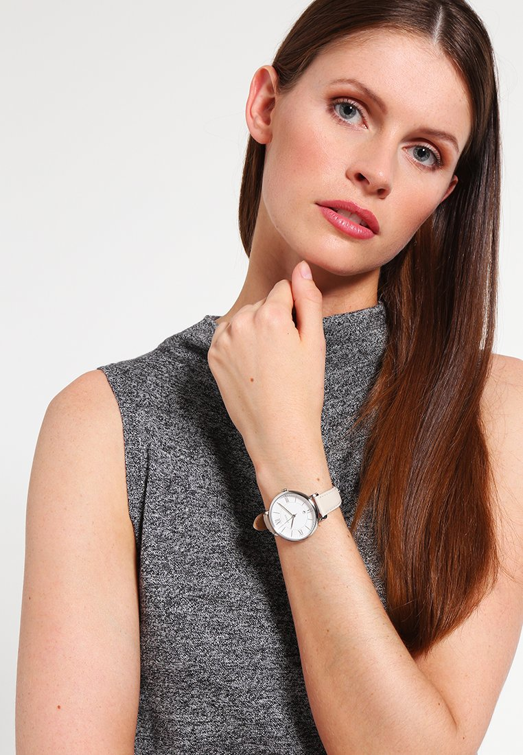 Fossil - JACQUELINE - Hodinky - offwhite/silver-coloured