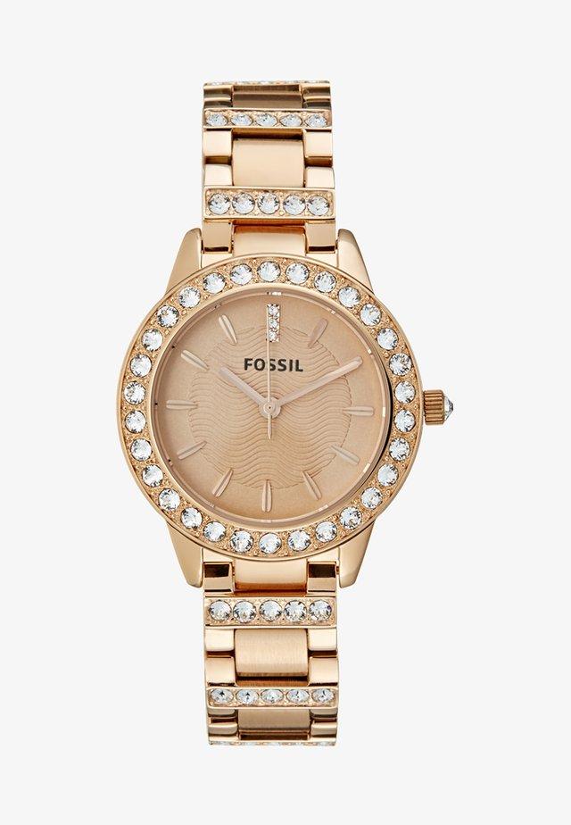 Horloge - rose gold-coloured