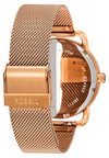 Fossil - THE COMMUTER 3H DATE - Watch - rosegold-coloured