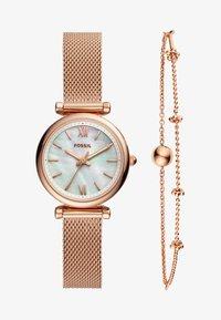 Fossil - CARLIE SET - Watch - roségold-coloured - 1