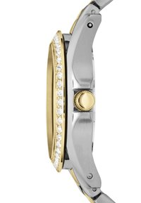Fossil - RILEY - Horloge - silver-coloured/gold-coloured - 3