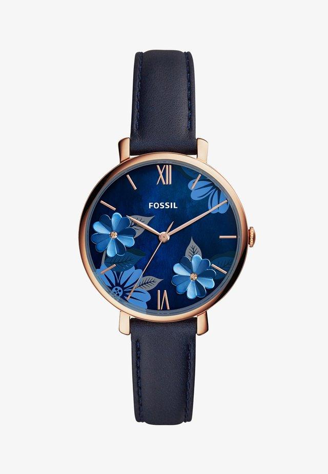 JACQUELINE - Klokke - blue