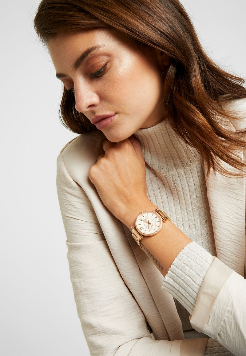Fossil - CARLIE - Hodinky - rose gold-coloured