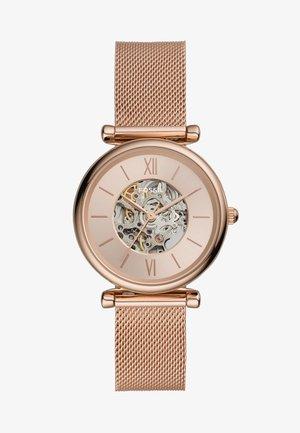 CARLIE - Horloge - rose gold-coloured