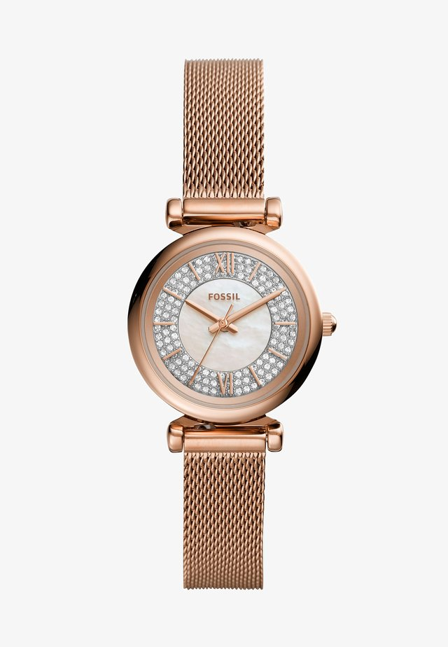 CARLIE MINI - Klocka - rose gold-coloured