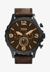 Fossil - Kronografklokke - brown - 1