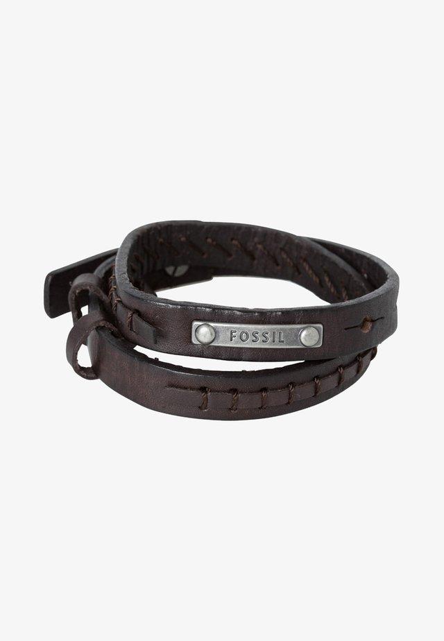 Bracelet - dunkelbraun