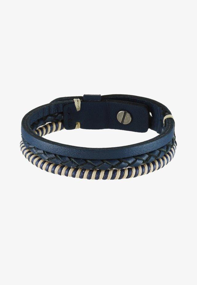 Armband - blue/beige