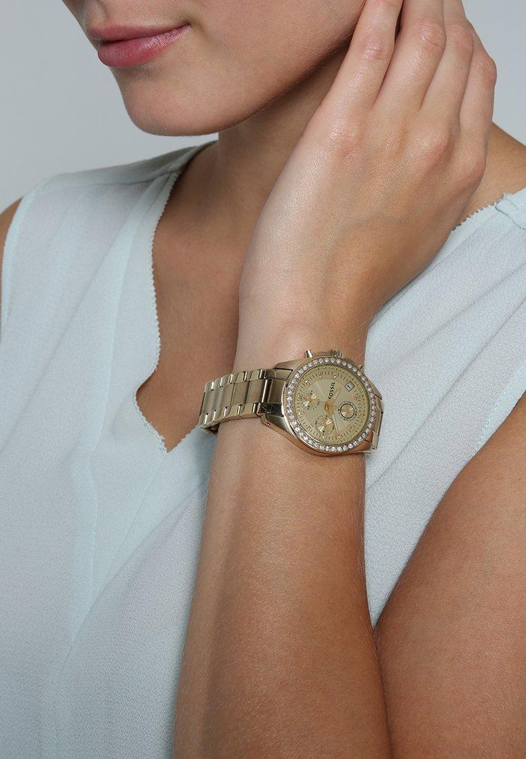 Fossil - DECKER - Watch - gold-coloured