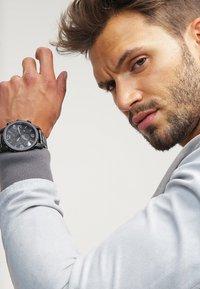 Fossil - NATE - Chronograph watch - schwarz - 0