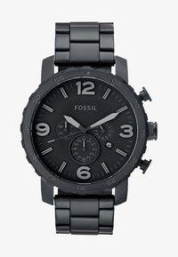 Fossil - NATE - Chronograph watch - schwarz - 1