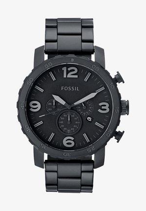 NATE - Chronograph watch - schwarz