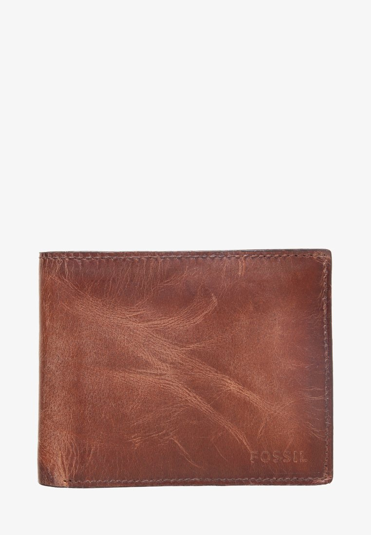 Fossil - DERRICK  - Geldbörse - brown