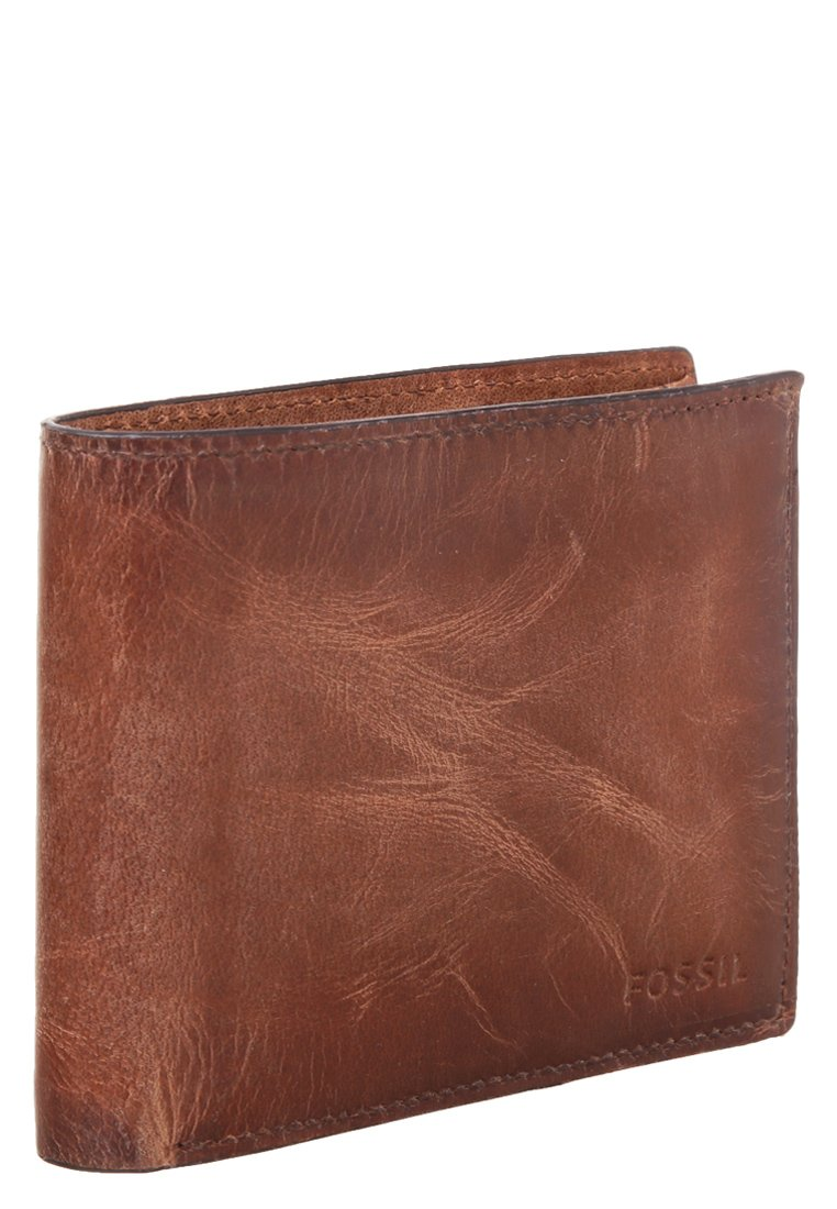 Fossil DERRICK - Portfel - brown