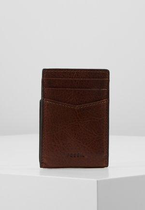 ANDREW - Wallet - cognac