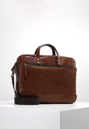 HASKELL - Briefcase - cognac