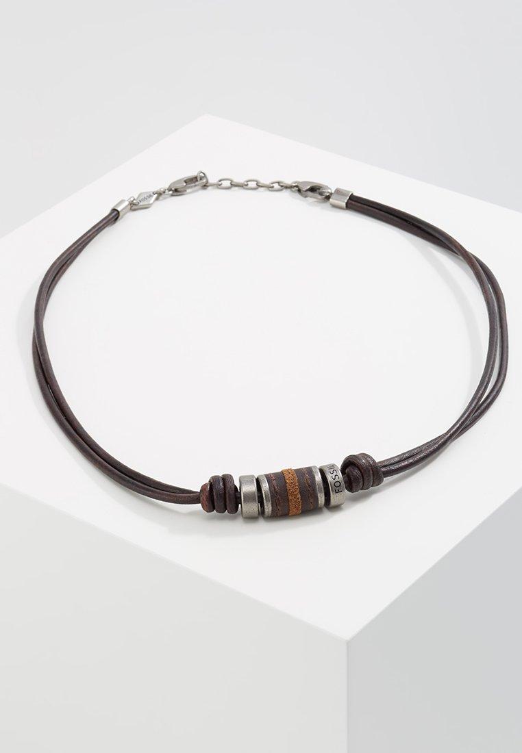 Fossil - Necklace - dunkelbraun