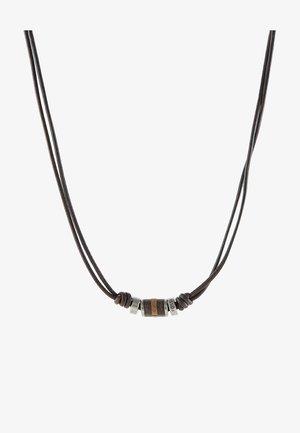 Necklace - dunkelbraun