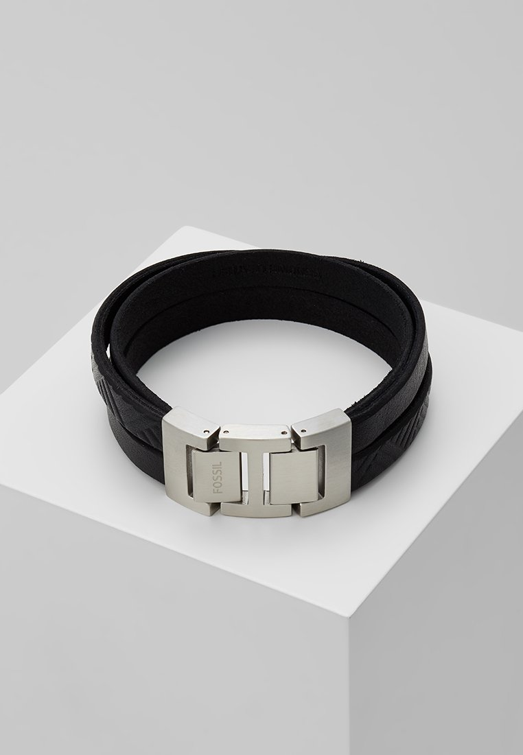 Fossil - VINTAGE CASUAL - Armband - schwarz