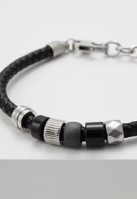 Fossil - VINTAGE CASUAL - Armband - black - 5