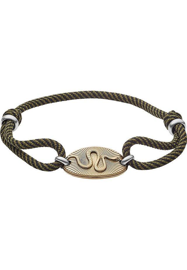 FOSSIL HERREN-HERRENARMBAND EDELSTAHL - Armband - gold