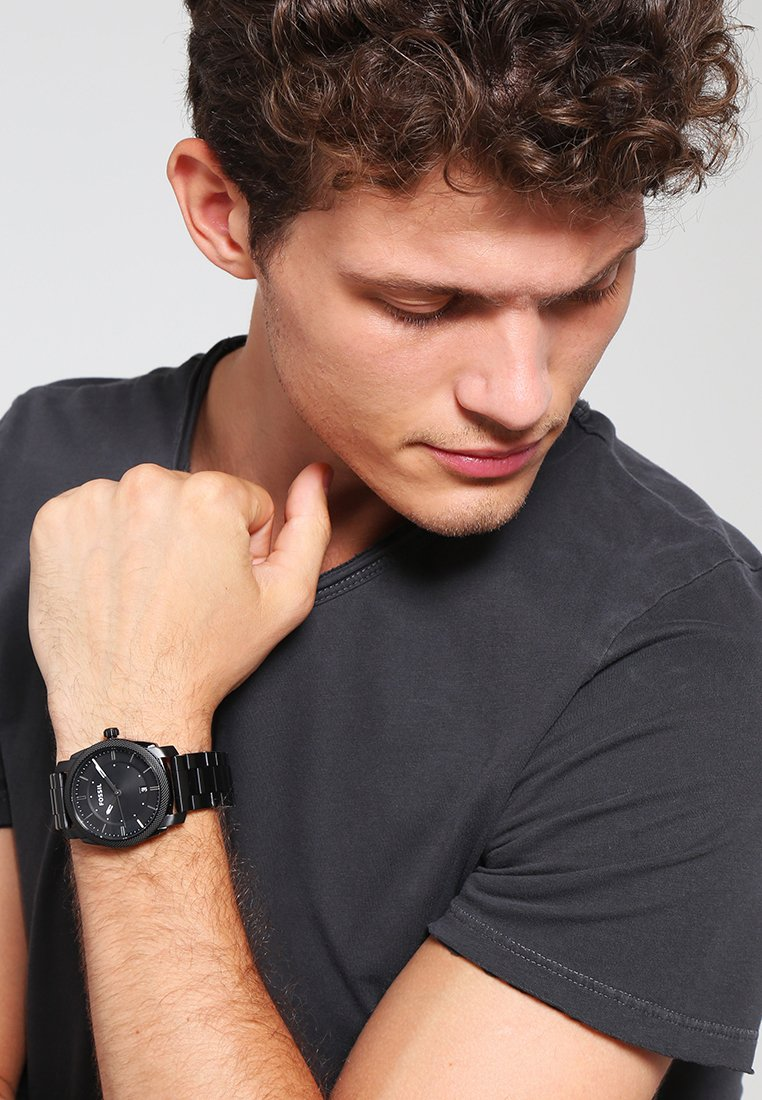 Fossil - MACHINE - Uhr - black