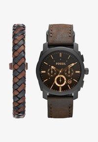 Fossil - MACHINE SET - Horloge - dunkelbraun - 1