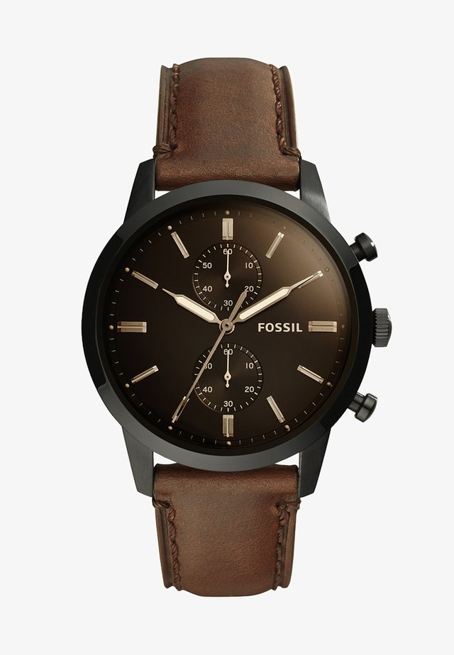 44MM TOWNSMAN - Chronograph watch - braun