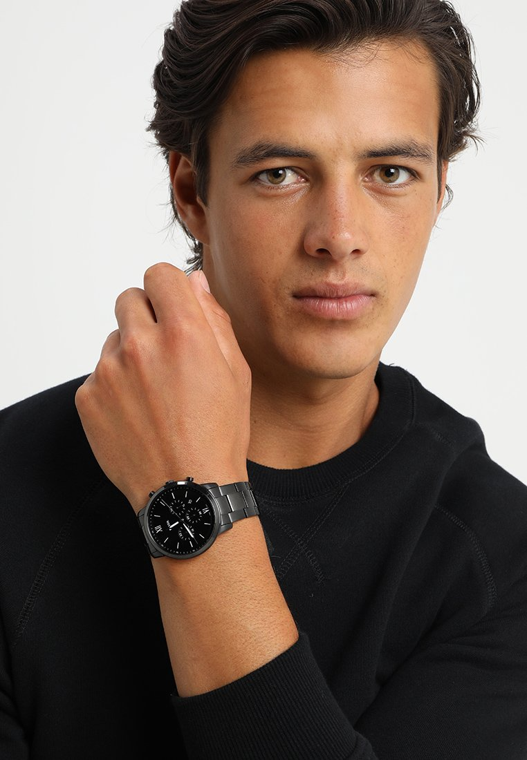 Fossil - NEUTRA - Chronograph watch - schwarz