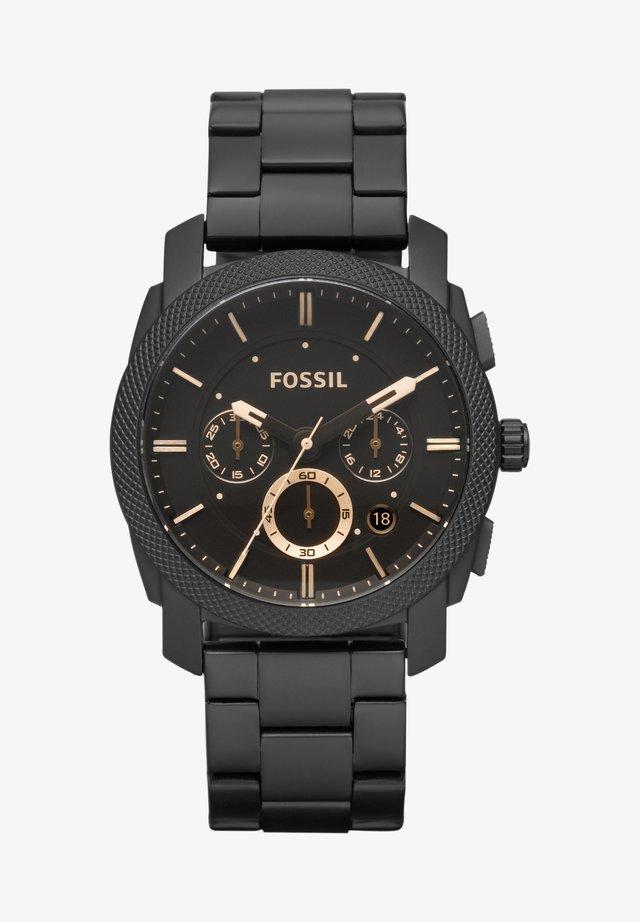 Chronograph watch - black