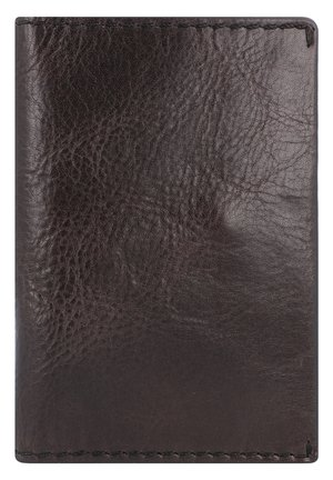 VINTAGE REISEPASSETUI LEDER 9 CM - Wallet - black