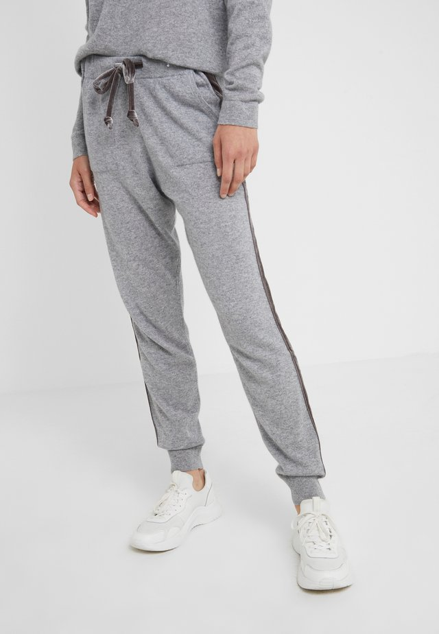 TROUSERS - Tracksuit bottoms - opal grey