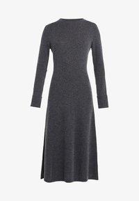 FTC Cashmere - DRESS MOCKNECK - Strikket kjole - shale - 4