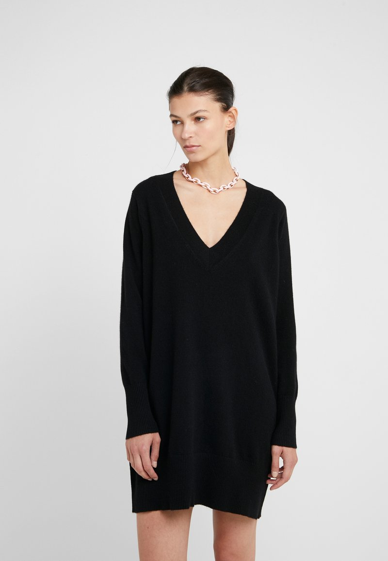 FTC Cashmere - DRESS - Robe pull - moonless night