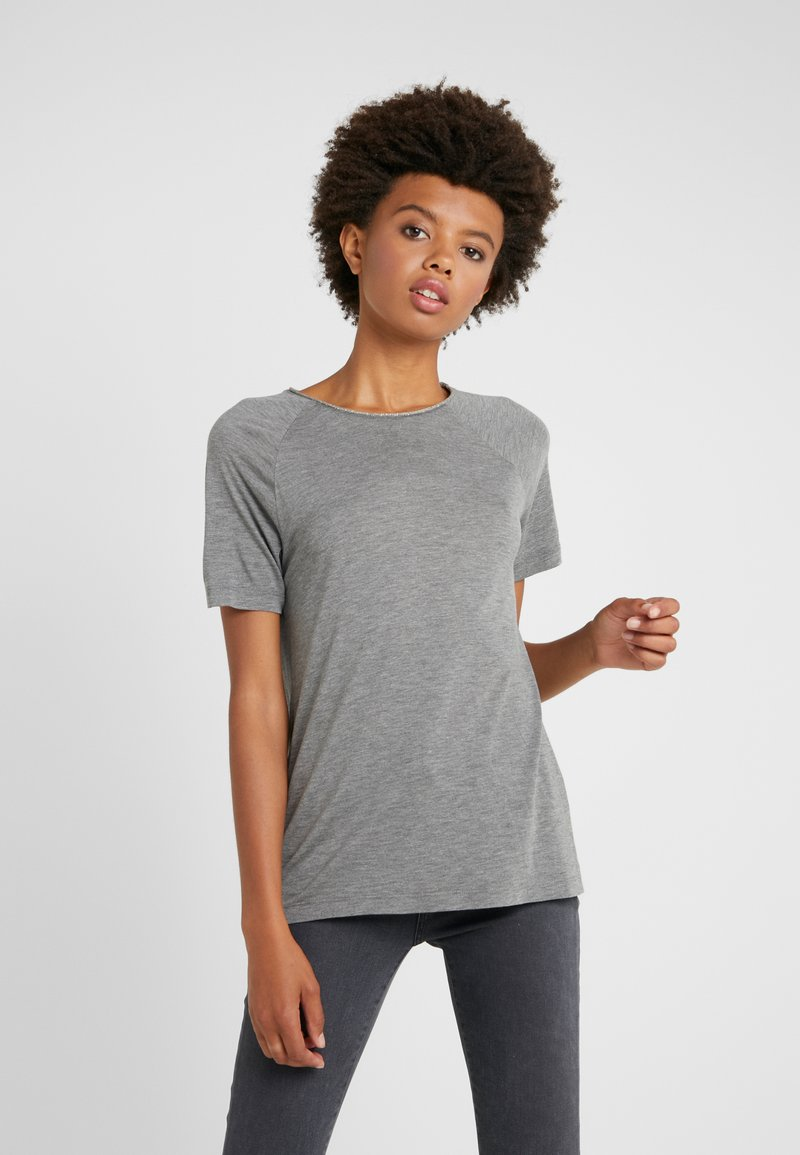 FTC Cashmere - Print T-shirt - taupe