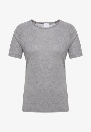 T-shirt z nadrukiem - taupe