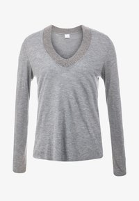 FTC Cashmere - Long sleeved top - mottled grey - 4