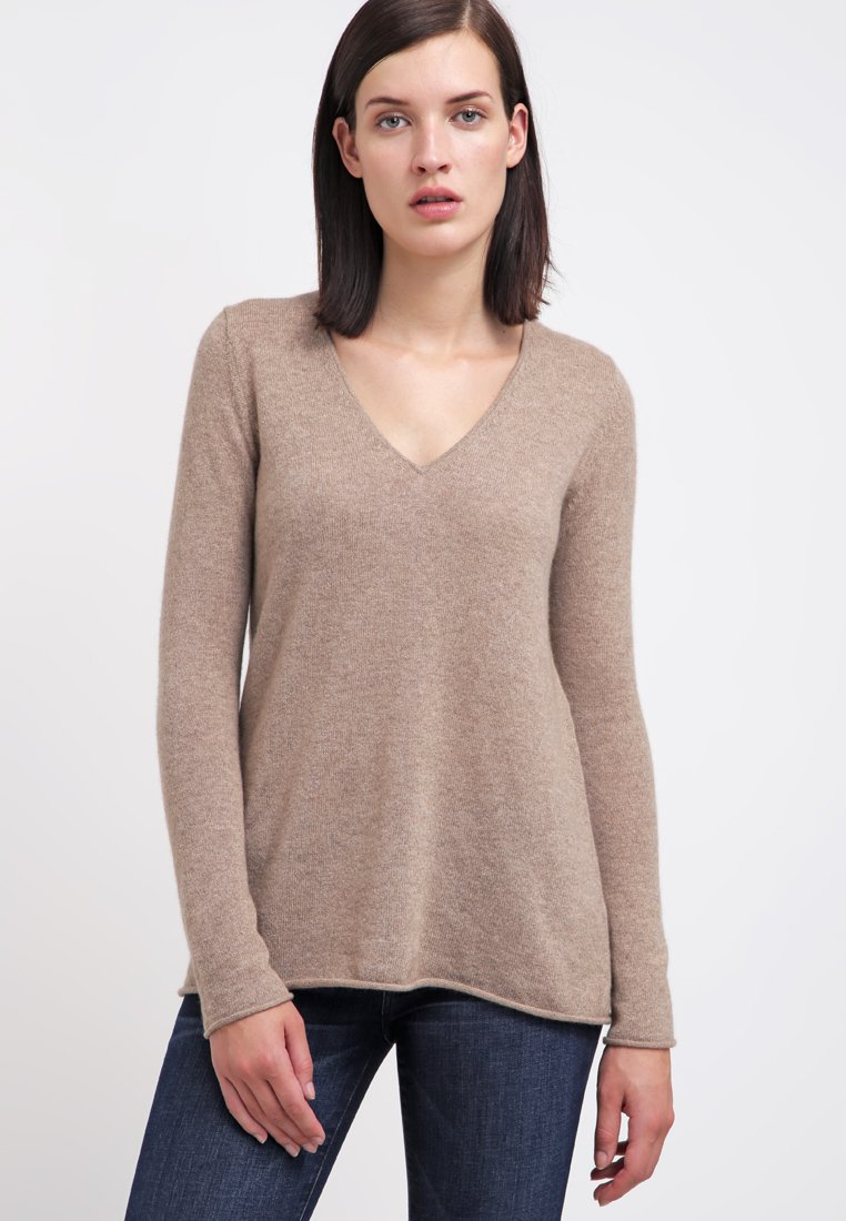 FTC Cashmere - Strickpullover - taupe