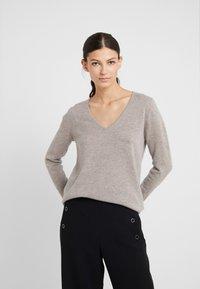 FTC Cashmere - Stickad tröja - dune - 0