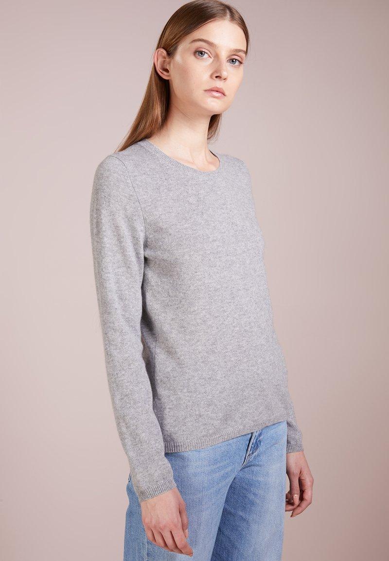 FTC Cashmere - BASIC - Pullover - grau