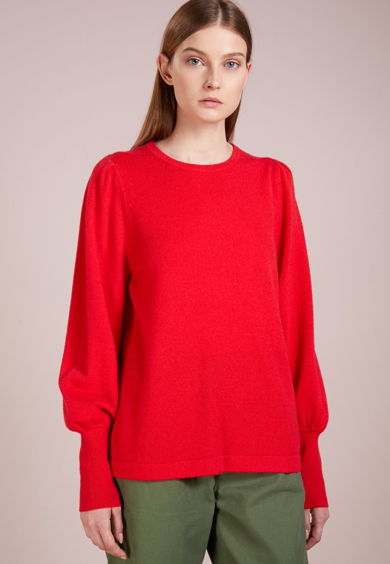 FTC Cashmere - SLEEVE CREW - Pullover - rot