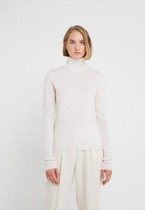 TURTLE NECK - Jersey de punto - pristine white