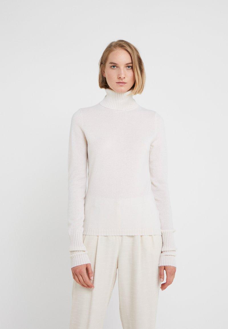 FTC Cashmere - TURTLE NECK - Strickpullover - pristine white