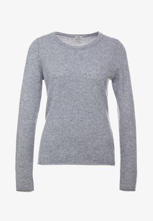 CREW NECK - Stickad tröja - opal grey