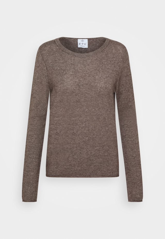 CREW NECK - Jumper - truffle