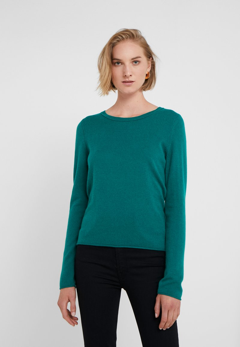 FTC Cashmere - CREW NECK - Jumper - teal green
