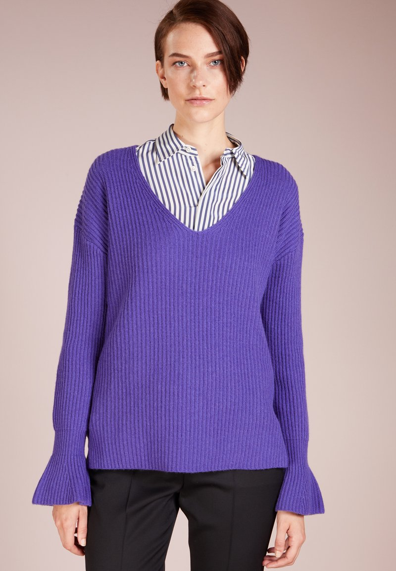 FTC Cashmere - TULIP SLEEVE - Pullover - deep purple