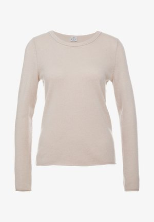 SEA CELL ROUND NECK - Strickpullover - champagne