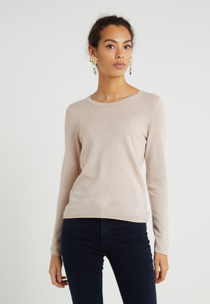 SEA CELL ROUND NECK - Maglione - champagne